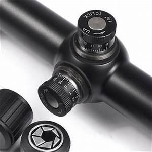 BARSKA 6 24x42 AO Varmint Mil Dot Riflescope