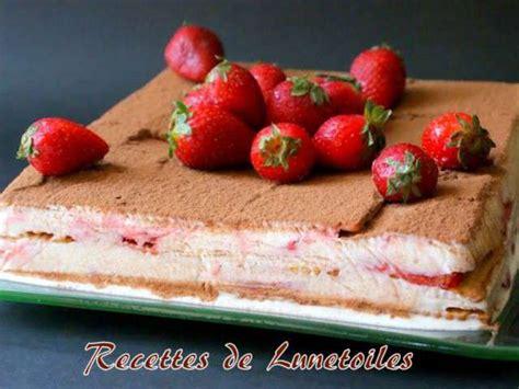 recette de cuisine sans cuisson recettes de gâteau sans cuisson et fraises