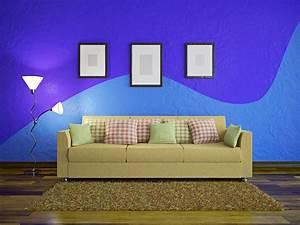 Wand Streichen Ideen : wand streichen ideen muster f r eine tolles raumgef hl ~ Markanthonyermac.com Haus und Dekorationen