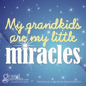 My little mirac... Nanny And Grandson Quotes
