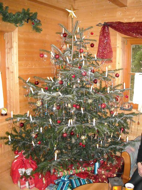 weihnachtsbaum mit lametta my blog