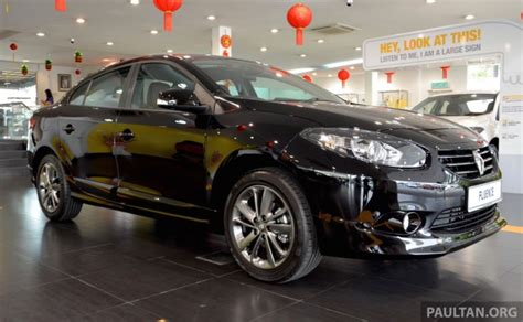 Renault Fluence Black Edition Launched Rm119 888