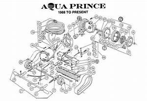 Aquavac Aqua Prince Chassis Psrts Diagram