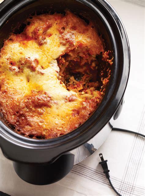 ricardo cuisine mijoteuse lasagne à la mijoteuse ricardo