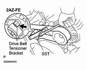 2003 Toyota Camry Solara Serpentine Belt Routing And Timing Belt Diagrams