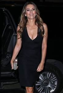 Elizabeth Hurley Photos Photos - Elizabeth Hurley Goes out ...