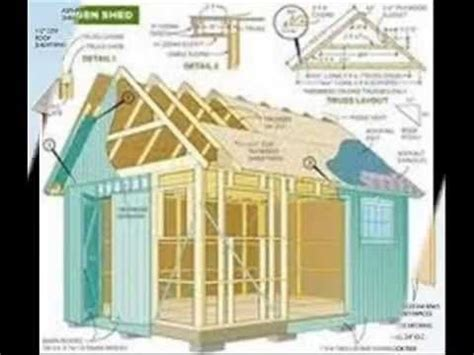 16x12 Shed Material List by Free Wood Shed Plans 12x16 Woodworking Projects Plans