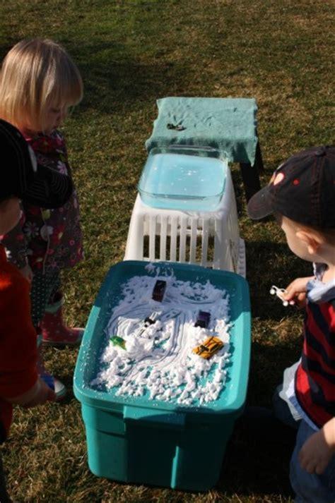 shaving cream car wash activity  preschoolers happy