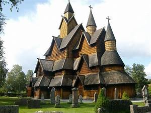 Norway- Telemark- wooden viking church YASHICA Digital