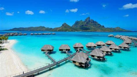 Hd Anime Landscape Wallpaper Landscape Bora Bora Wallpapers Hd Desktop And Mobile Backgrounds