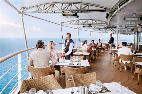 la terrazza restaurant ultra luxury cruise travel with silver muse silversea