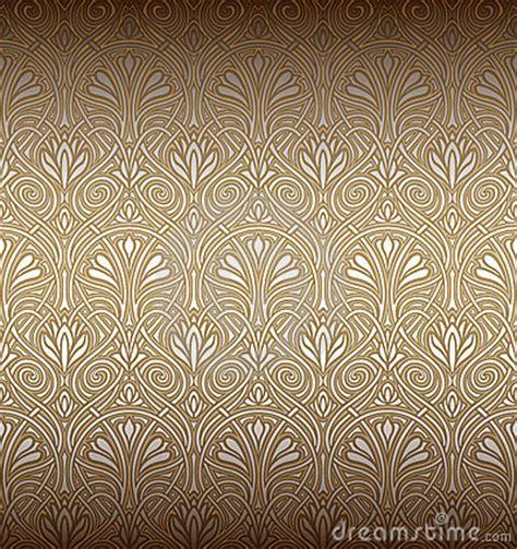 seamless art nouveau pattern stock photography image