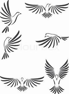 Dove vector | Stock Vector | Colourbox