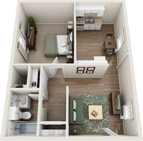 one bedroom apartments one floor apartments home design