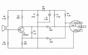 Good Buffer  Preamp Circuit For Electret Mic