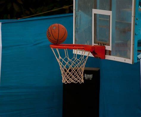 photo basketball net ball ring  image