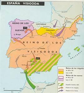 Reino Visigodo de Toledo Blog de Geografía e Historia