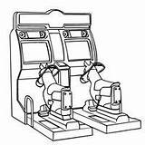 Coloring Pages Games Arcade Machine Claw Toy Printable Template Printables Fun Toys Way sketch template