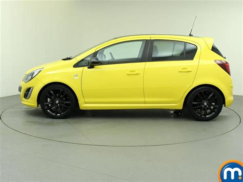 vauxhall yellow used or nearly new vauxhall corsa 1 3 cdti ecoflex limited