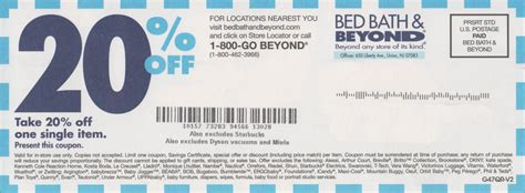 Which Bed Bath And Beyond Coupon?