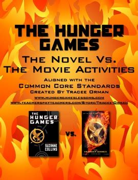 hunger games book   activities  tracee orman
