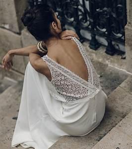 Robe De Mariée Dos Nu Plongeant : photo la robe de mari e dos nu est une tendance en 2016 laure de sagazan ~ Melissatoandfro.com Idées de Décoration