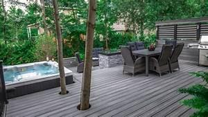 1001 terrassen ideen zum inspirieren und geniessen With whirlpool garten mit kunstrasen für balkon und terrassen