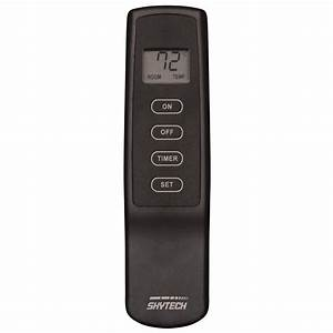 Skytech 1420t  Lcd Timer Fireplace Remote Control