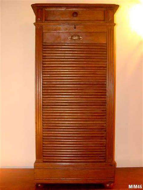 classeur de bureau à rideau classeur à rideau vers 1930