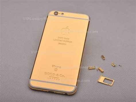 Limited Edition 24k Gold Coating Iphone 6s Cover