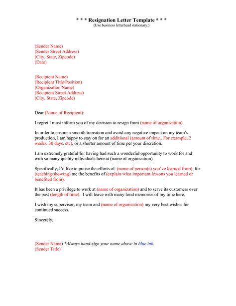 grateful resignation letter  regret sample templates