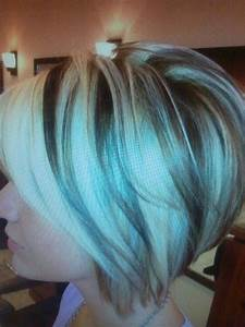 Blonde Chunks On Copper Brown Hair Pics
