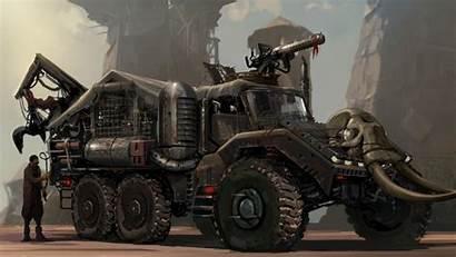 Sci Fi Vehicle Apocalyptic Fantasy Truck Transport