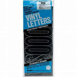 permanent adhesive vinyl letters 6quot gothic black home With vinyl boat lettering walmart