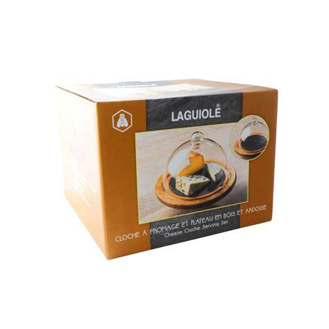 cuisine ardoise et bois cloche a fromage laguiole en bois et ardoise noir cuisine pratique topkoo