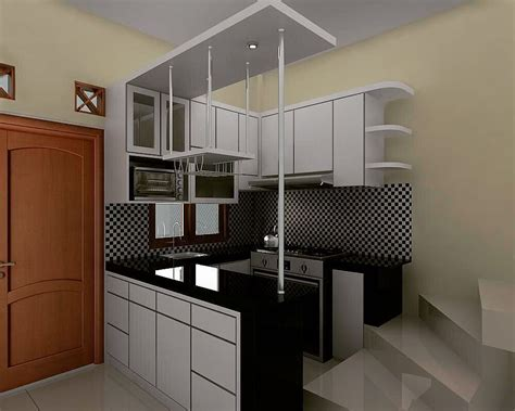 18 Model Dapur Sederhana Minimalis Dengan Kitchen Set