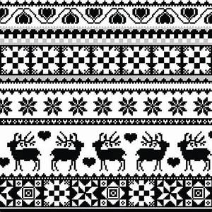 Weihnachtsmotive Schwarz Weiß : starke kontraste weihnachten in schwarz wei handelsdigest ~ Buech-reservation.com Haus und Dekorationen