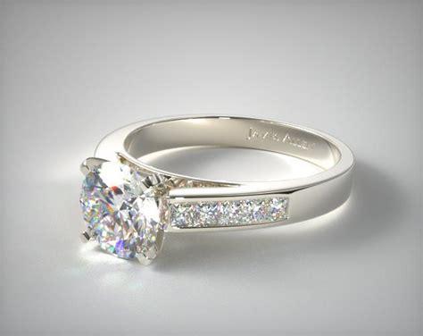 0.25ct Channel Set Princess Shaped Diamond