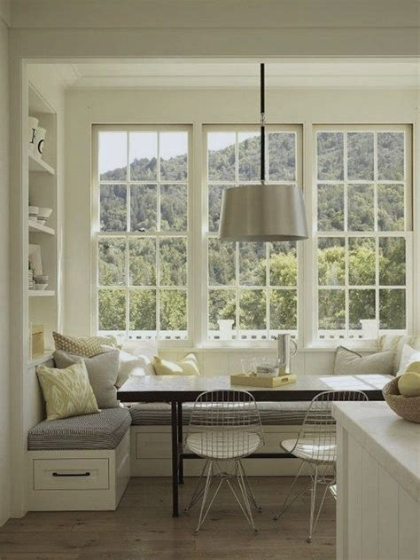 Once completed, just add some window seat cushions and sit, relax and catch up on that book. 6 Kitchen Nook Ideas That Can Instantly Cozy Up Your Space ...