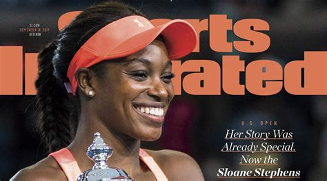 sloane stephens on sports illustrated cover after us open si