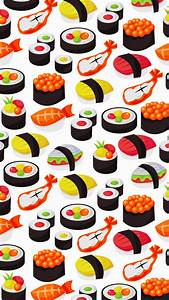 Sushi and seafood print | Prints & Patterns | Pinterest ...