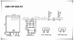 Dpdt 10a 8 Pin Jqx-13f 2z Relay