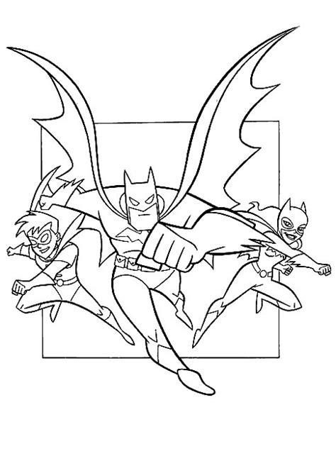 Kleurplaat Batman En Robin by N Kleurplaat Batman Batman Robin En Batgirl