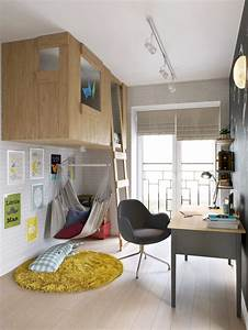 Modern Boy39s Room With A Tree House Bed DigsDigs