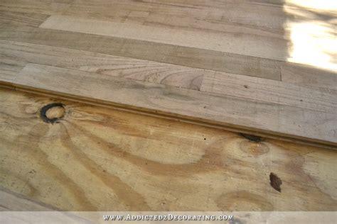 Hardwood Floor Spline Home Depot by Breakfast Room Pantry Hardwood Flooring Installed Plus A