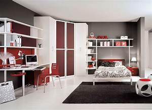 Teen bedroom interior design stylehomesnet for Teenage interior design bedroom