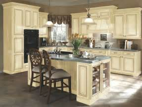 Best Paint Color For Bathroom Makeup by Kitchen Idea 3 Distressed Cream Cabinets This Has Tile