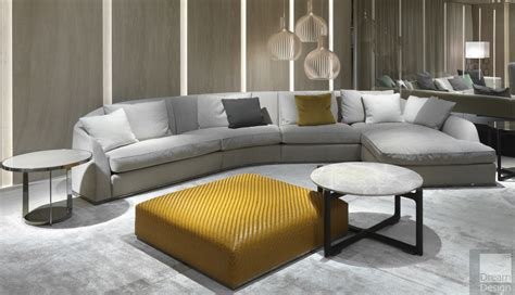 Flexform Mood Alfred Sectional Sofa