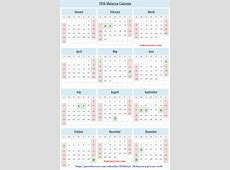 Malaysia Holidays Calendar 2016 About Education