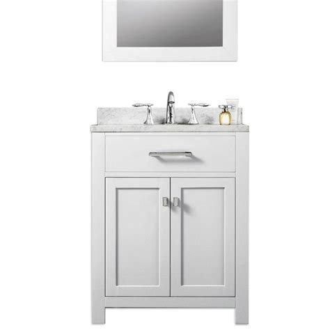 24 inch vanity with sink water creation madison 24 quot solid white traditional single